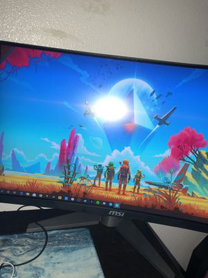 MSI curved 144hz monitor for Sale in San Diego, CA