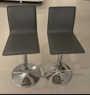 Bar Stools- Gray for Sale in Miami, FL