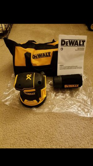 New dewalt 20v MAX XR Brushless sander for Sale in Ashburn, VA