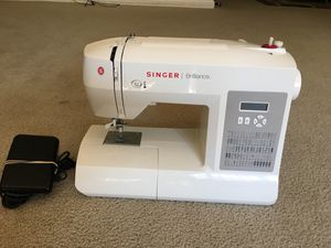 Singer Brilliance 80 stitch computerized Portable sewing for Sale in NO POTOMAC, MD