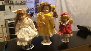 Old porcelain dolls for Sale in Merrill, OR