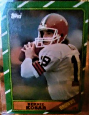 Bernie kosar 86 Topps football RC for Sale in Geneseo, IL