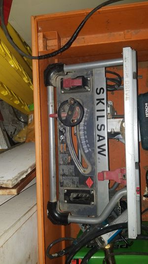 "skill saw 10"" worm drive table saw for Sale in Portland, OR"
