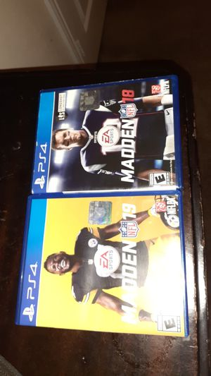 Madden 19 and 18 for Sale in Rockwall, TX