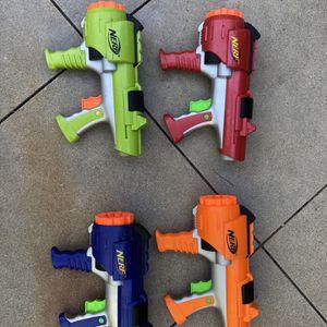 Nerf Guns (no Darts) for Sale in Arlington, VA