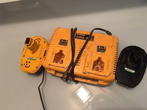 Dewalt battery and charger for Sale in Marietta, GA