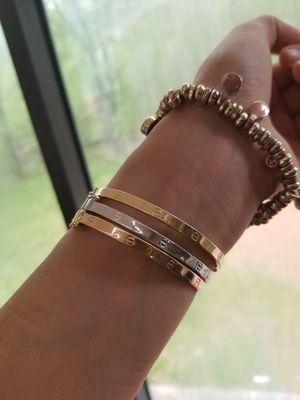 cartier bracelet 18 k for Sale in Lilburn, GA