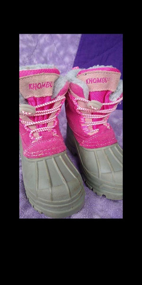 Khombu Kids winter boots /snow boots. sz 7