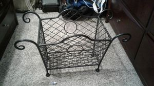 Metal basket for Sale in Crownsville, MD
