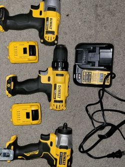 3 Dewalt 12v Battery Tools for Sale in Staten Island,  NY