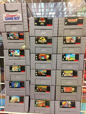 Large Collection of Super Nintendo (Snes) Games For Sale *Prices & Titles Listed in the Ad* for Sale in Austin, TX