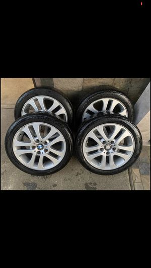 "Set of 4 bmw 17"" rims and tires 5x120 for Sale in Covington, WA"