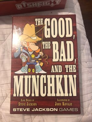 The good, the bad, and the munchkin card game for Sale in West Palm Beach, FL