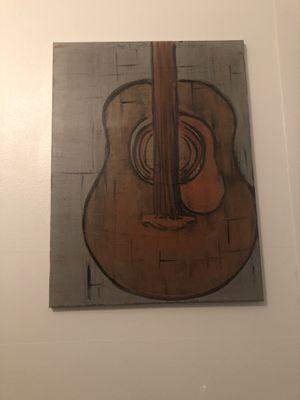 Guitar painting for Sale in Lake Ridge, VA