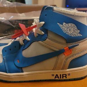UNC OFF-WHITE Nike Jordan 1 for Sale in Stockbridge, GA