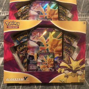 POKÉMON - (2) Alakazam V BOX - SEALED!! With Promo Card And Booster Packs 🔥🔥 for Sale in Pompano Beach, FL