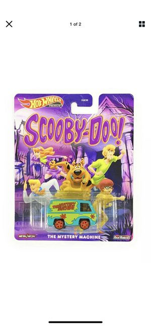 Hot wheels scooby doo mystery machine with real riders for Sale in Clearwater, FL