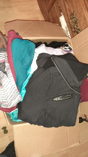 Womens clothes box full for Sale in Dinuba, CA