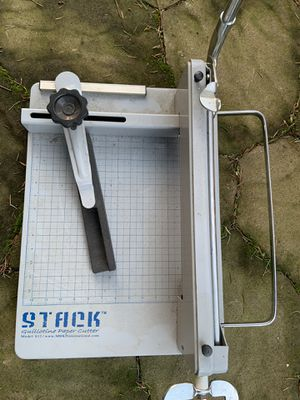 Stack S12 Paper Cutter for Sale in Lynnwood, WA
