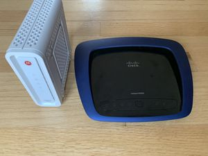 Cable modem and Wireless Router. for Sale in Berlin, CT