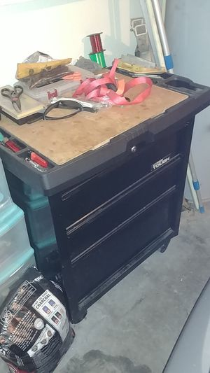 Tool box and tool for Sale in Kissimmee, FL