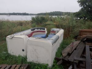 Pontoon boat seats for Sale in Dighton, MA