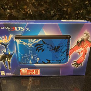 Nintendo 3DS XL Blue Pokemon X &Y Limited Edition for Sale in Fort Lauderdale, FL