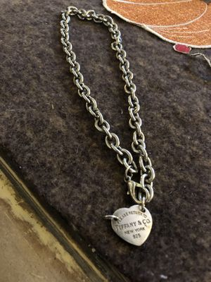 Please Return To Tiffany & Co New York 925 Necklace for Sale in Fort Worth, TX