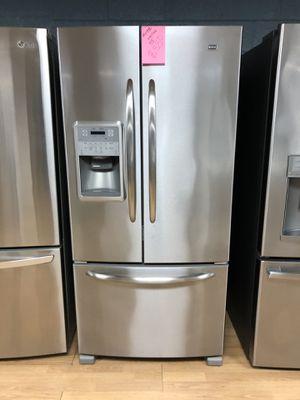 Maytag stainless steel French door refrigerator for Sale in Woodbridge, VA