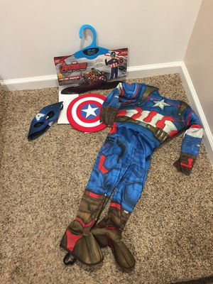 Captain America costume (2T-4T) for Sale in Gibsonia, PA