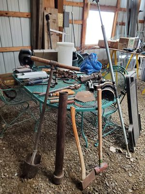 Post hole digger & steel fence post driver for Sale in Cheyenne, WY