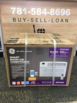 GE 10,000 BTU 115V Smart Window Air Conditioner with Remote AC A/C for Sale in Revere, MA