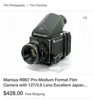 Medium format film camera for Sale in San Jose, CA
