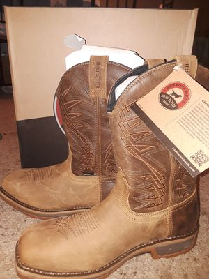 Size 10 Red Wing steel toe boots for Sale in Marietta, GA