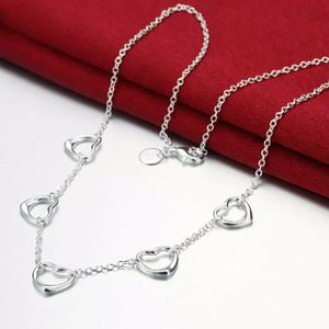 """925 Sterling silver Necklace Jewelry Charm lady Heart love Chain 18"""" in long Necklace Approx chain Thickness 1mm - SLV for Sale in Queens, NY"""