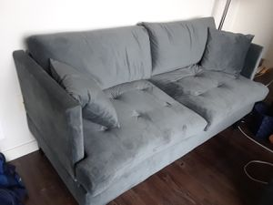 Brand new velvet sofa for sale for Sale in Seattle, WA