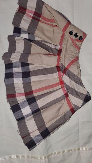 Burberry skirt size 4 for girls for Sale in Phoenix, AZ
