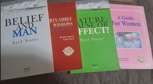 Risale-i nur collection 4 mini books for Sale in Brooklyn, NY