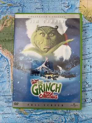Dr. Seuss How The Grinch Stole Christmas DVD Movie Film for Sale in Chula Vista, CA