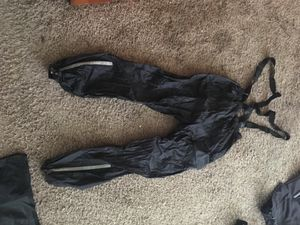 Motorcycle riding pants. Part of a rain suit. for Sale in Houston, TX