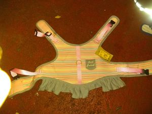 Medium sized dog harness it's velcro and clip straps for Sale in Coral Springs, FL