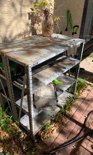 Metal work shelves for Sale in Phoenix, AZ