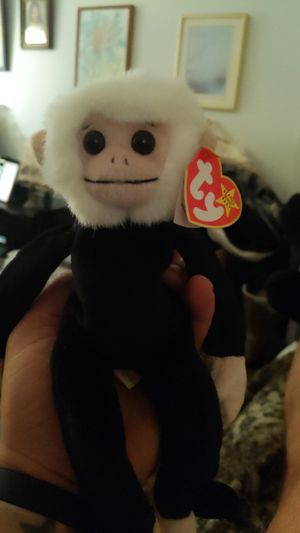 "Rare...Rare...Rare, ""Mooch"" the spider monkey beanie baby. for Sale in Mystic, CT"