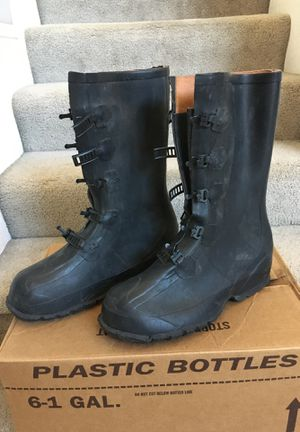 Rain boots galoshes SIZE 11 for Sale in Glendale, AZ
