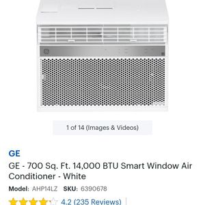 GE Window AC Unit for Sale in San Mateo, CA
