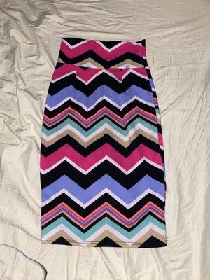 Chevron print pencil skirt for Sale in Yuba City, CA