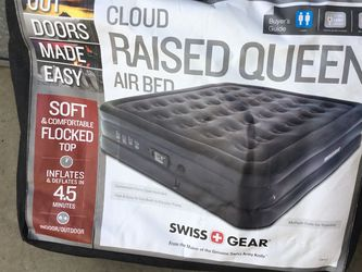 Swiss Gear Self Inflating Queen Size Air Mattress for Sale in Chino,  CA