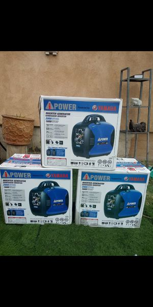 Inverter Silent Generator 2000w YAMAHA for Sale in Ontario, CA