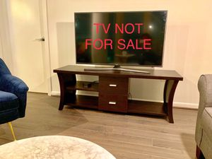Modern TV stand (retail value $300) for Sale in McLean, VA