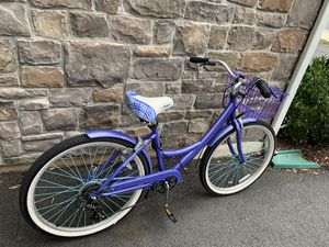 26 inches Woman cruise bike 7 speed Almost new for Sale in Ashburn, VA